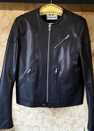 Vip luxury кожаная куртка от acne studios original
