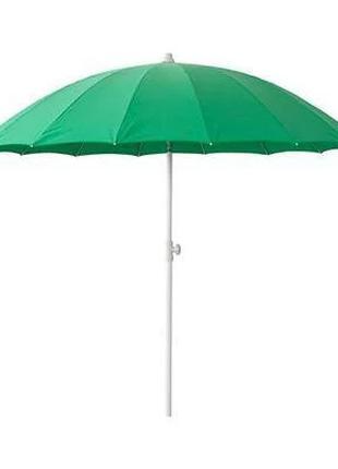 Зонт пляжный, садовый, наклонный 210 см