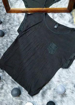 Свободная футболка блуза топ кофточка h&m