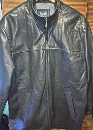 Кожанная куртка размер 50