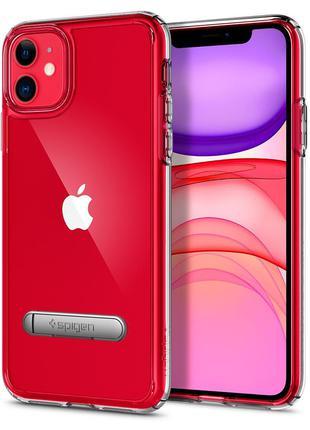 Чехол Spigen Ultra Hybrid S для iPhone 11 Crystal Clear