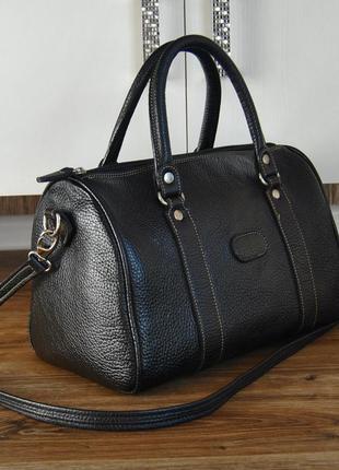 Кожаная сумка bellissima / шкіряна сумка