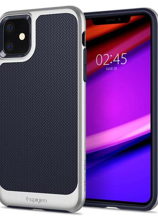 Чехол Spigen Neo Hybrid для iPhone 11  Arctic Silver