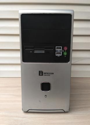 Компьютер, Системный блок с серверным 4-х ядерным процессором Qua