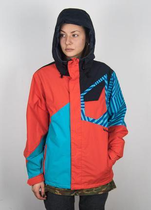 Мужская volcom сноуборд горнолыжная куртка