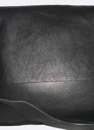 Шикарная вместительная сумка натуральная кожа guliver design