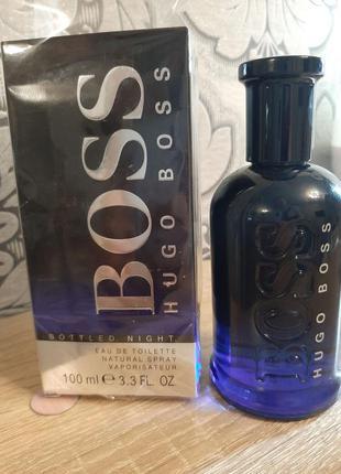 ☆оригинал☆100мл hugo boss boss bottled night  туалетная вода