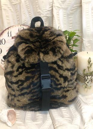 Рюкзак меховый женский