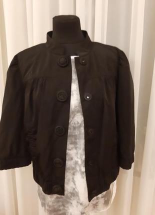 Куртка ветровка пиджак miss selfridge раз.38-40