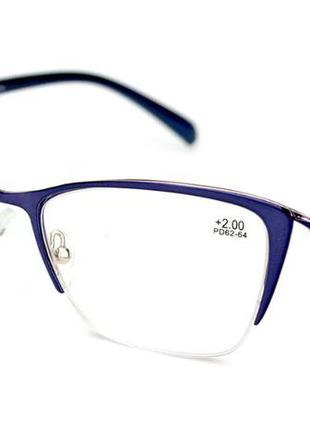 Женские очки для зрения в полуободковой оправе (модель 20144)