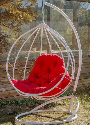 Кресло подвесное. Кокон Адель. Гамак Kreslorotan. Качель садовая