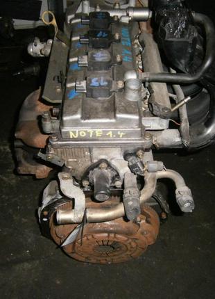 Б/у Двигатель в сборе Nissan Micra 1.4