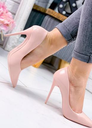 Шикарные женские туфли высокий каблук