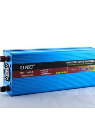 Преобразователь синусоида UKC AC/DC sine 1500W