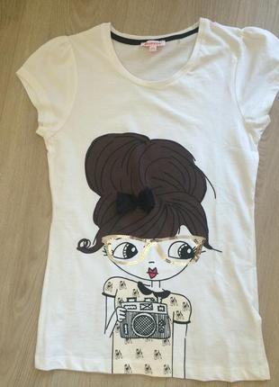 Дизайнерская футболка 12-13 лет