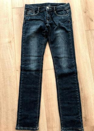 Zara джинсы 13-14 лет с трикотажной подкладкой