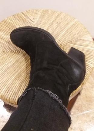 Ботинки на широком каблуке.полусапожки.ботильоны graceland (ге...