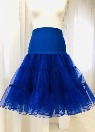 Пышная юбка пачка в цвете электрик