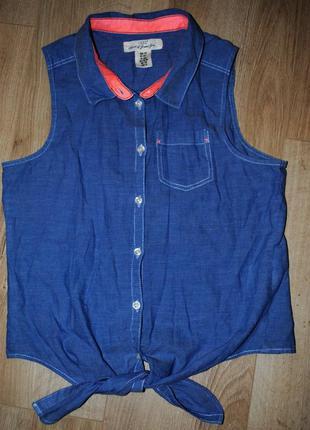 Рубашка h&m 14+