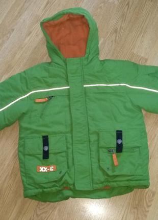 Теплая зимняя куртка grawler grane + подарок 2-3 года
