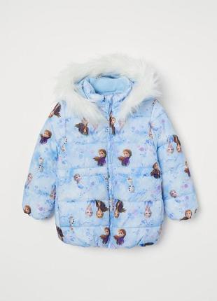 Куртка frozen холодное сердце