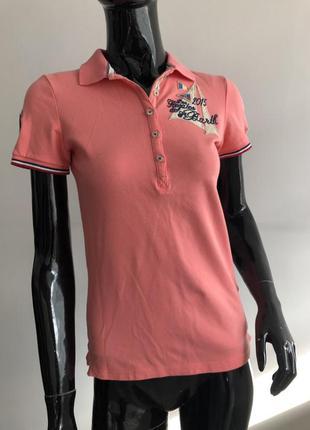 Футболка поло женская gaastra розовая