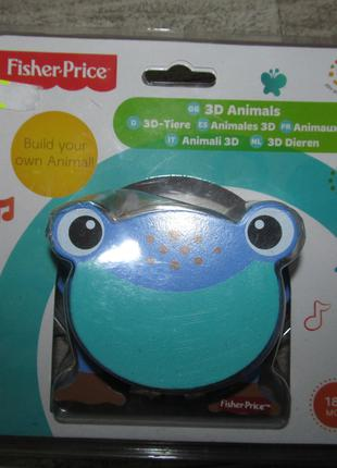 Развивающая игрушка Fisher Price 3D Animal Puzzle - FROG возраст