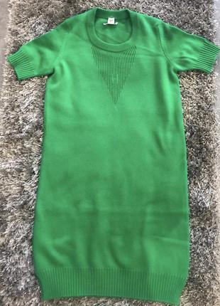 Платье hermes зеленое оригинал 36