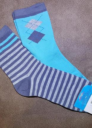 Комплект из двух пар носков , размер 22 / 8-10 лет