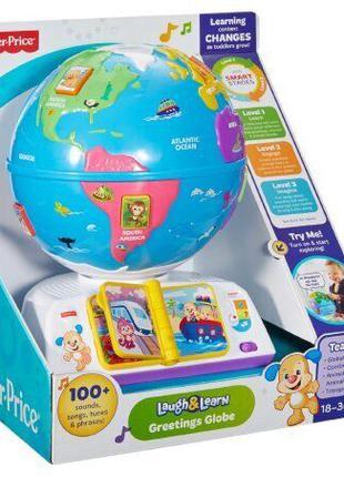 Интерактивная игрушка Fisher Price Умный глобус на (рус)