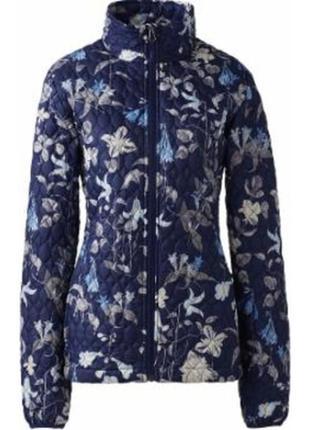 Куртка landsend на утеплителе primaloft