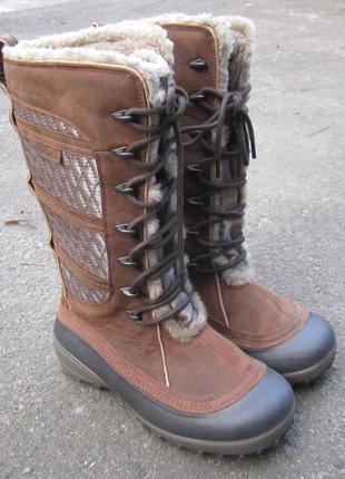 Сапоги женские сноубутсы ботинки columbia heather canyon omni-...