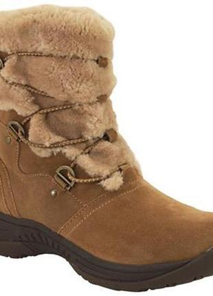 Замшевые полусапожки baretraps ravie cold weather boots, 36, 5