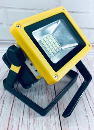 Ручной прожектор Bailong 204 мощный фонарь светодиодный