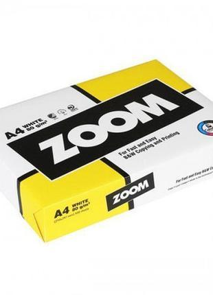 Бумага офисная ZOOM А4 80г/м2