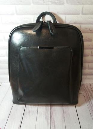 Женский кожаный рюкзак из натуральной кожи жіночий шкіряний су...