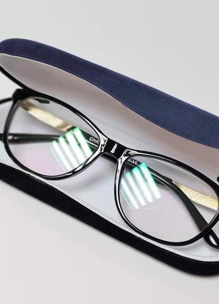 Очки имиджевые прозрачная линза с защитой от уф