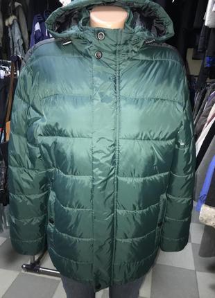 Удлиненная мужская куртка демисезон