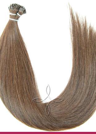 Волосы для Наращивания на Капсулах 50 см 100 грамм, Шоколад №05