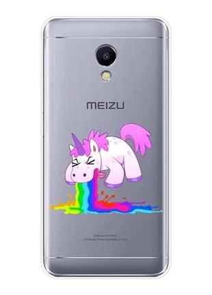 Силиконовый чехол на Meizu M6t
