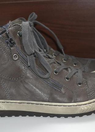 Gabor 39р ботинки ботильоны кожаные, оригинал. сникерсы