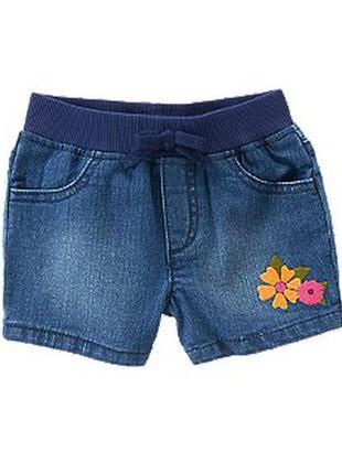 Новые джинсовые шорты crazy8, размер 3т