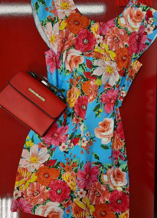 Короткое летнее платье, размер М