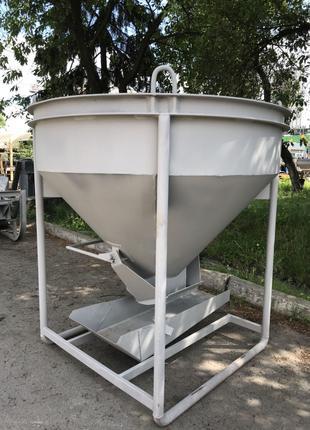 Бункер бадья для бетона и раствора от производителя
