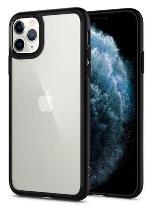 Чехол Spigen Ultra Hybrid для iPhone 11 Pro  Matte Black