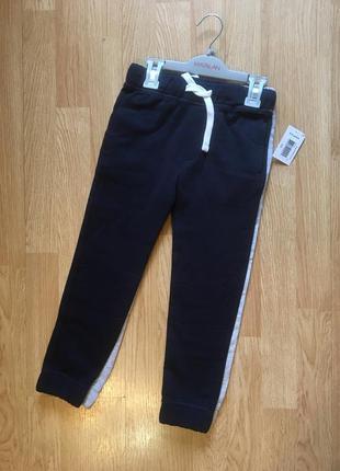 Спортивные штаны на флисе, джоггеры для мальчика matalan, англ...