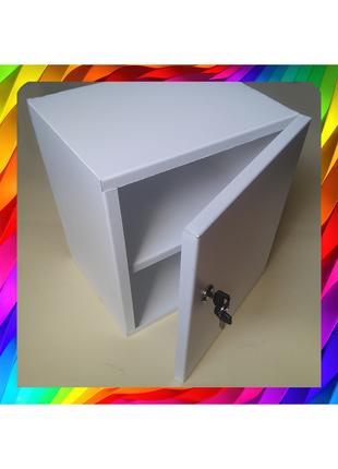 Шкафчик металлический навесной (Замок)