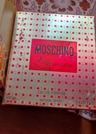 Moschino glamour 100ml 2007 года винтаж