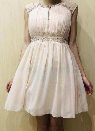 Платье с камнями little mistress