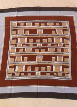 Шелковый, французский платок